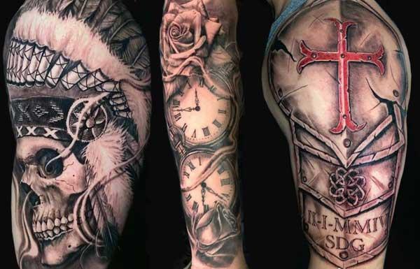 Porky Martinez Knucklehead Tattoo Glendale